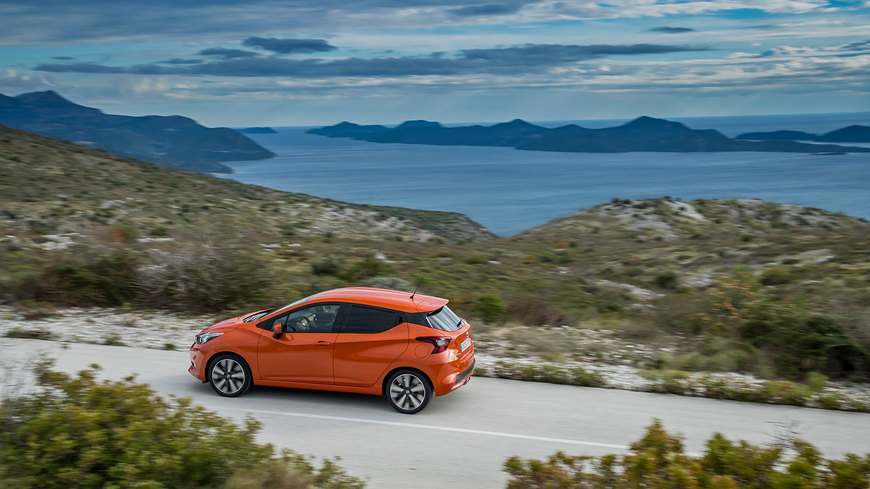 Nissan Micra review: on-trend blacked-out windows, floating roofline and hidden rear door handles
