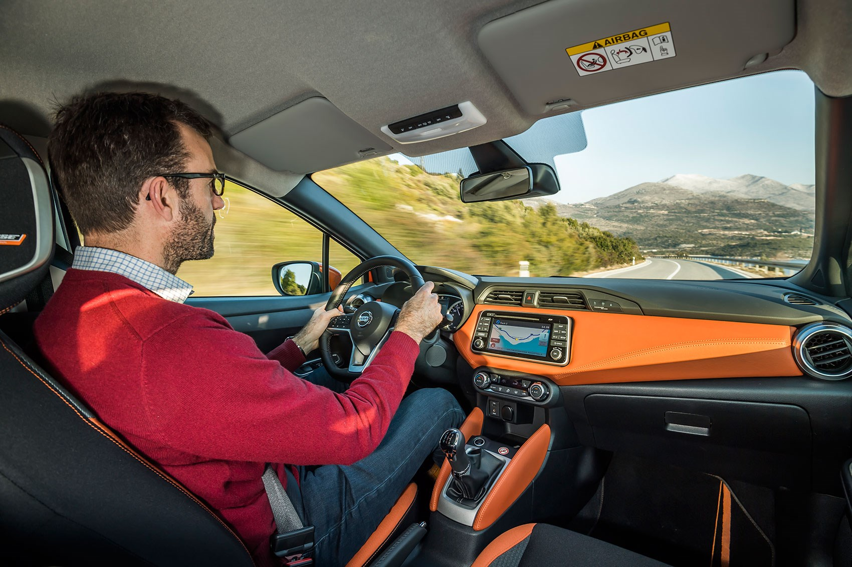 Author Tim Pollard drives the new 2017 Nissan Micra