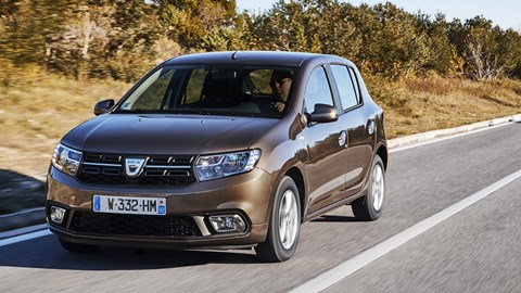 dacia sandero laureate sce 75 2017 review by car magazine. Black Bedroom Furniture Sets. Home Design Ideas