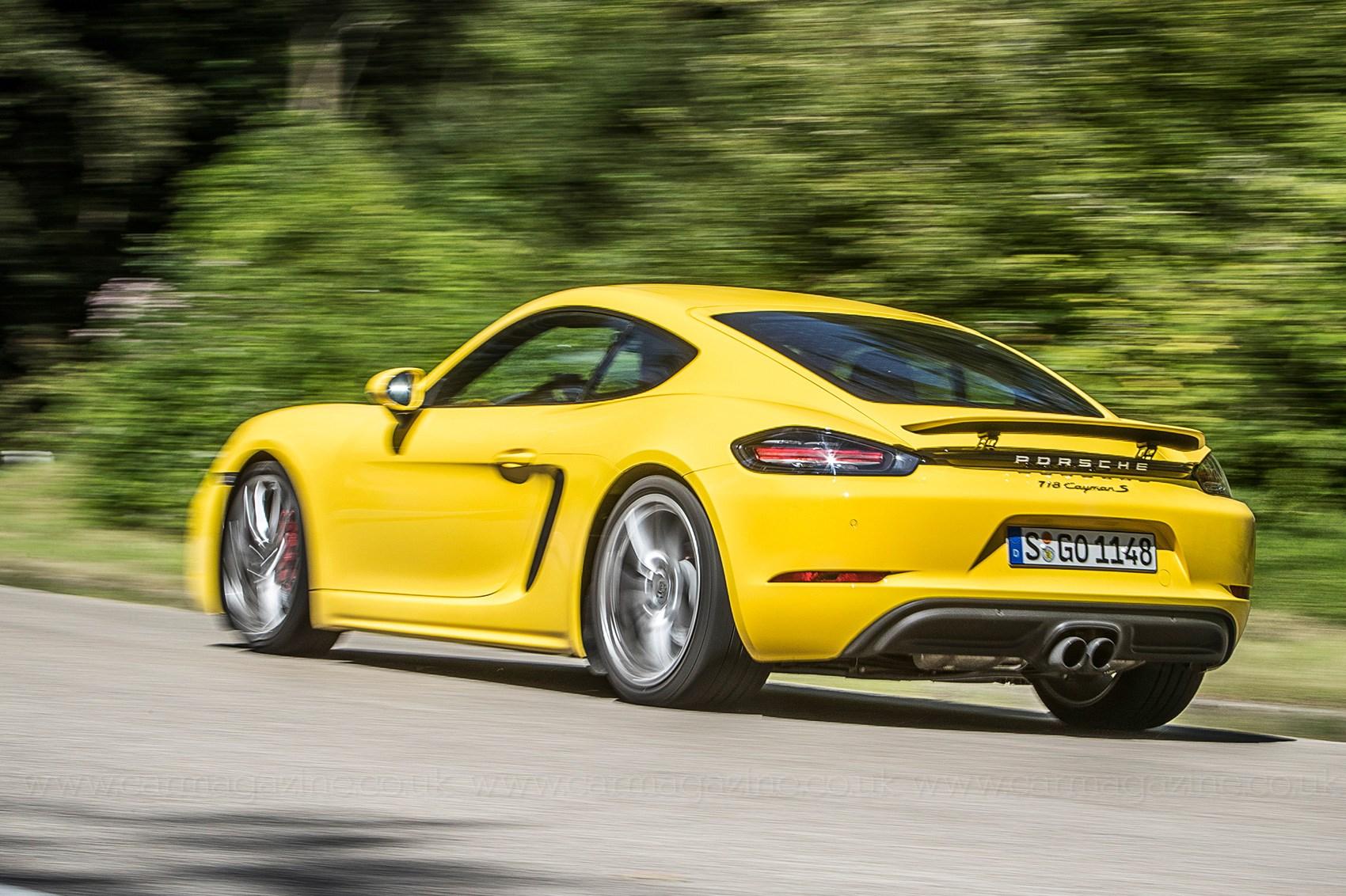 Twin test: Audi TT RS vs Porsche 718 Cayman S   CAR Magazine