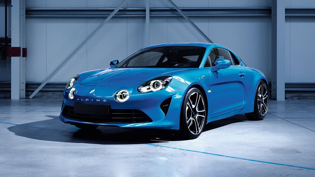 Bon ... Meet The New Alpine A110