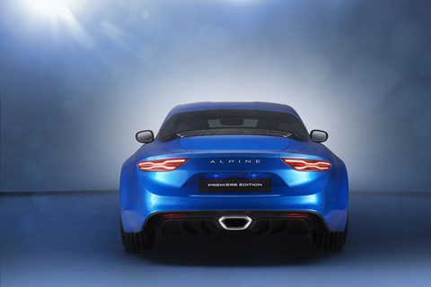 Alpine A110 at Geneva 2017