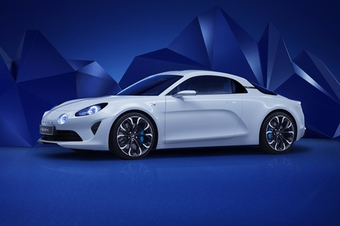 The Alpine Vision sports car concept