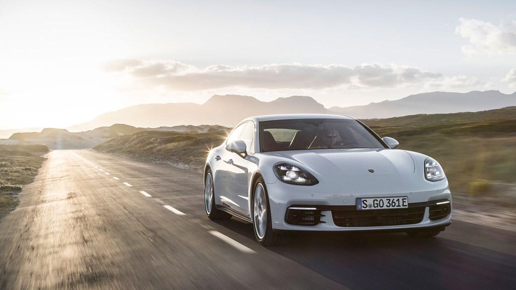 The New 2017 Porsche Panamera 4 E Hybrid