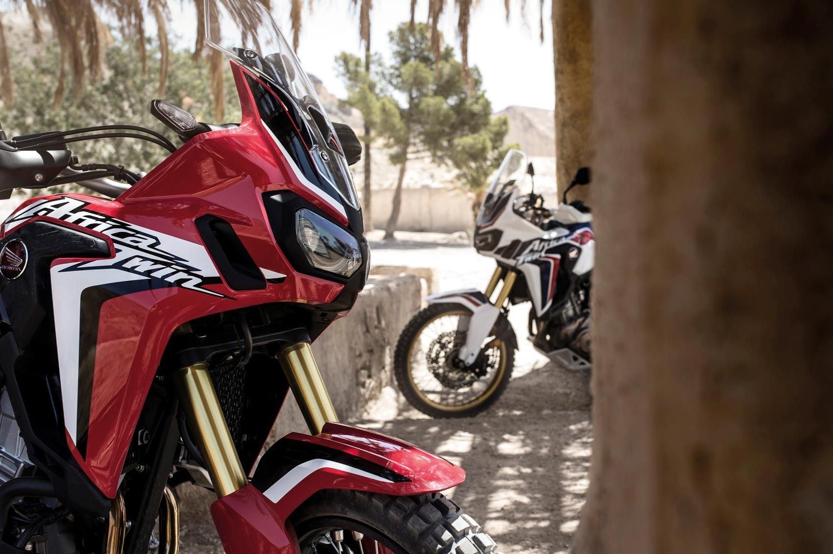 handlebars honda africa twin  motorcycle review car magazine