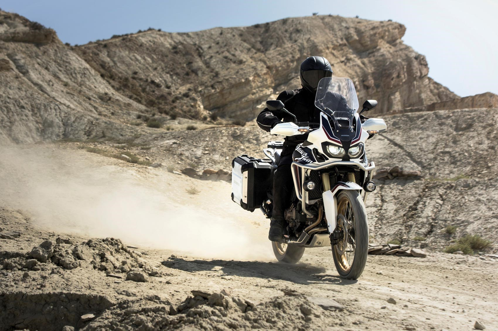 Handlebars: Honda Africa Twin (2017) Motorcycle Review By