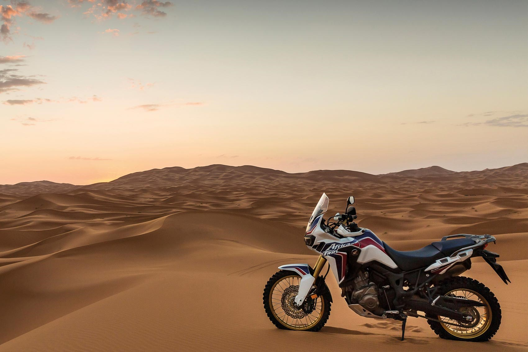 Handlebars Honda Africa Twin 2017 Motorcycle Review By