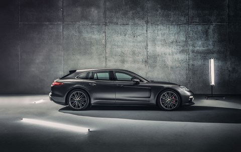 See the new 2017 Porsche Panamera Sport Turismo at the Geneva motor show