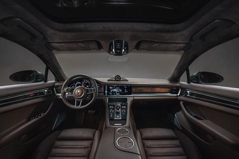 Porsche Panamera Sport Turismo cabin