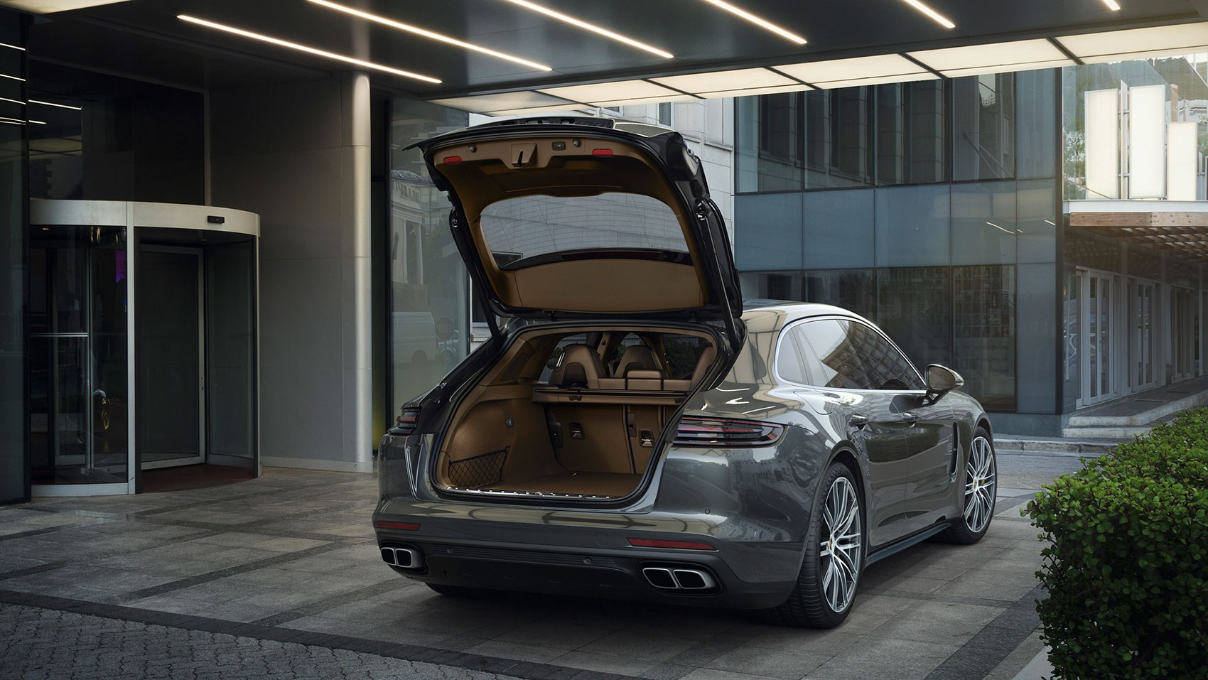 Porsche Panamera Sport Turismo At The Geneva Motor Show By CAR - Sports cars with back seats