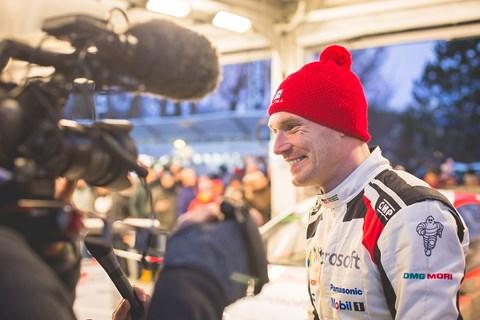 Charismatic Toyota works driver Jari-Matti Latvala