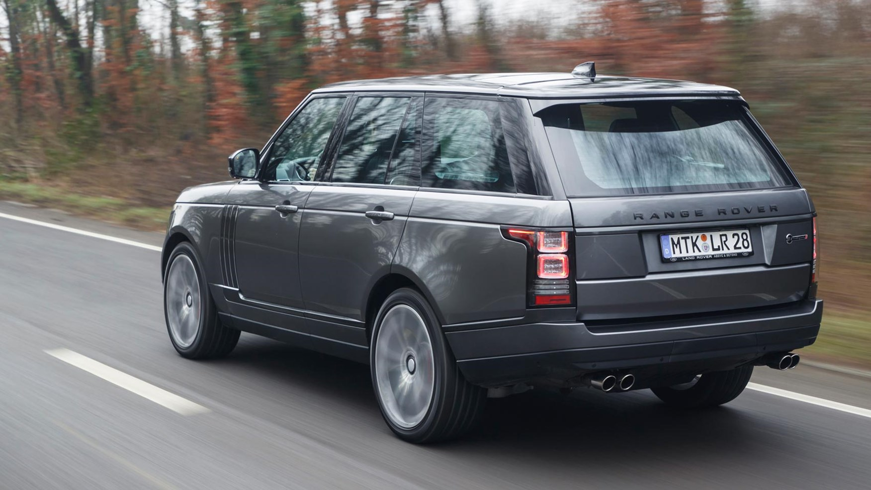 Range Rover Svautobiography Dynamic 2017 Review By Car