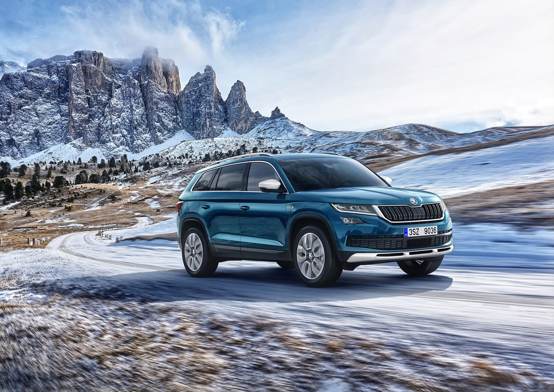 Skoda yeti 2017 review release date new automotive trends skoda - The New 2017 Skoda Kodiaq Scout