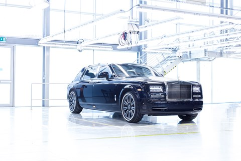 The last Rolls-Royce Phantom VII