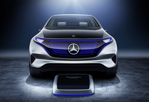 Mercedes EQ: points to an electric crossover, GLC-sized