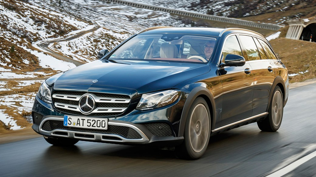 Mercedes E Cl 350d All Terrain 2017 Review