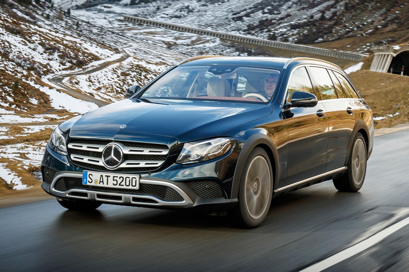 Mercedes Benz Lease Deals 0 Down >> Mercedes E-class 350d All-Terrain (2017) review | CAR Magazine