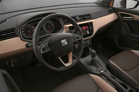 2017 Seat Ibiza interior