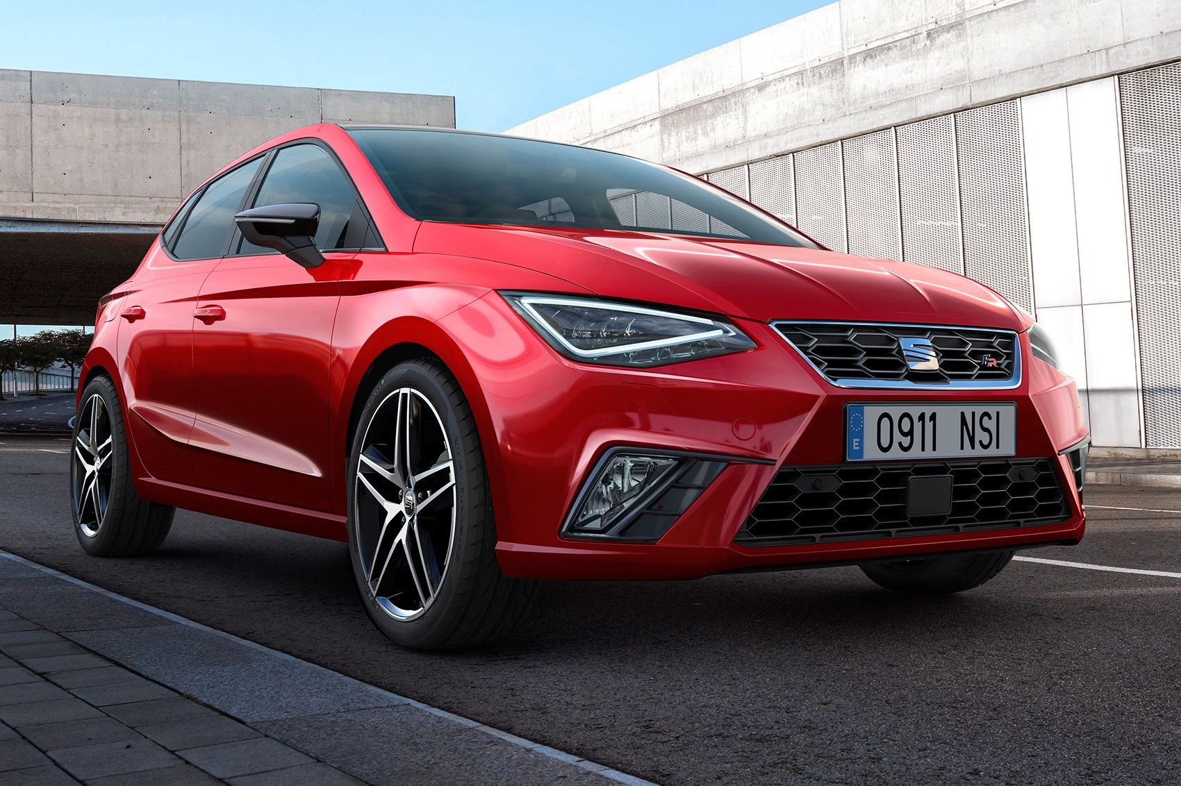 new seat ibiza revealed a little leon for 2017 car magazine. Black Bedroom Furniture Sets. Home Design Ideas
