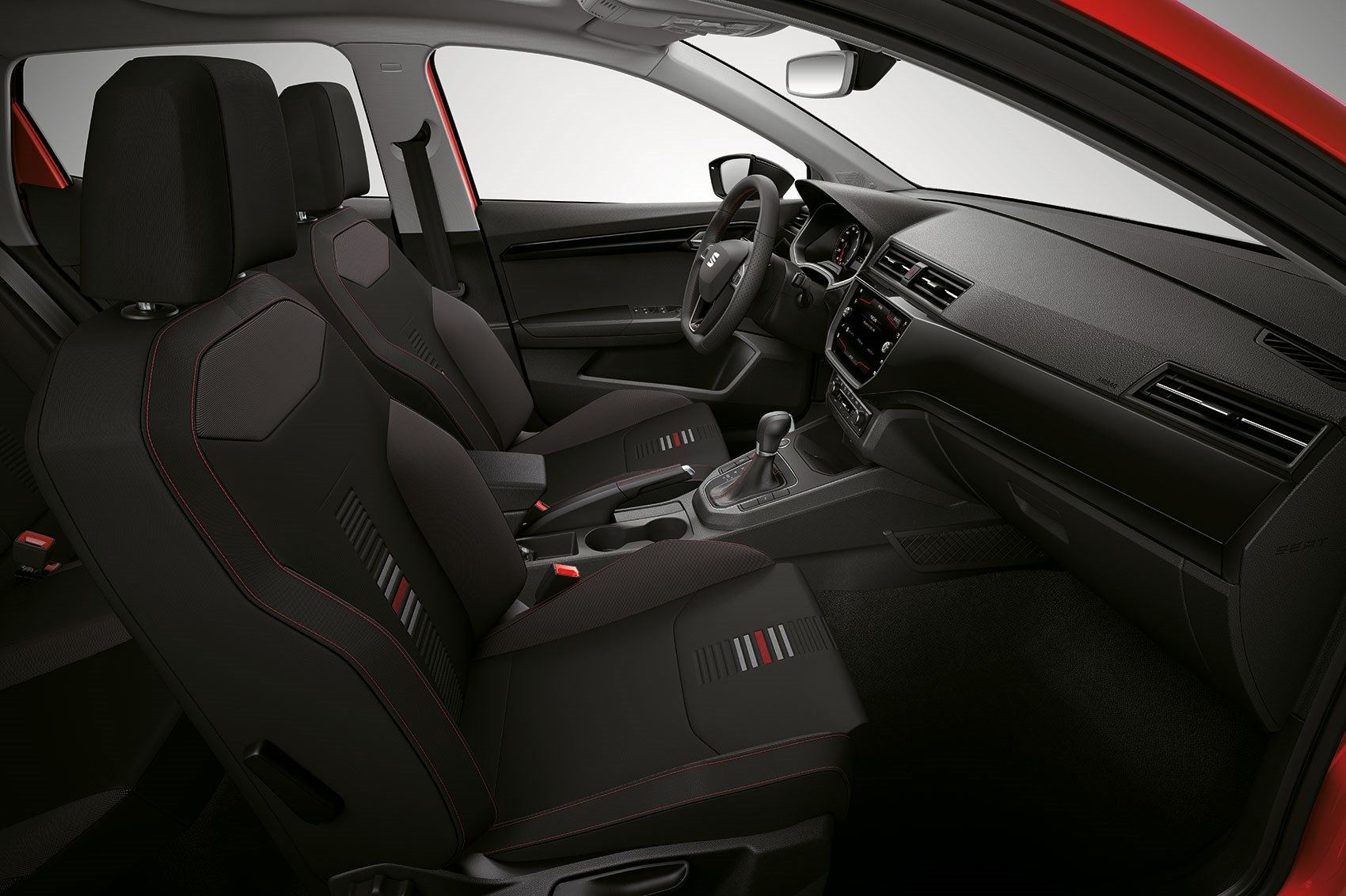 new seat ibiza revealed a little leon for 2017 by car. Black Bedroom Furniture Sets. Home Design Ideas