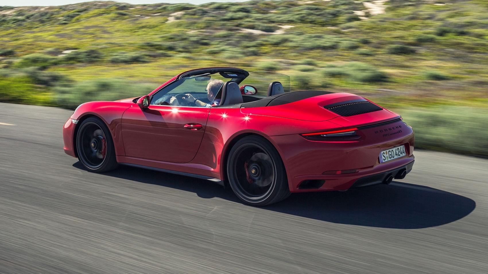 porsche 911 carrera gts cabriolet (2017) reviewcar magazine