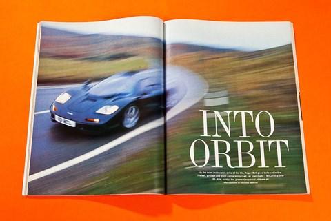When CAR first drove the McLaren F1