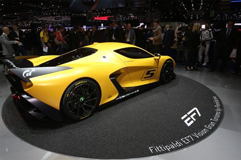 Pininfarina EF7 at the 2017 Geneva motor show
