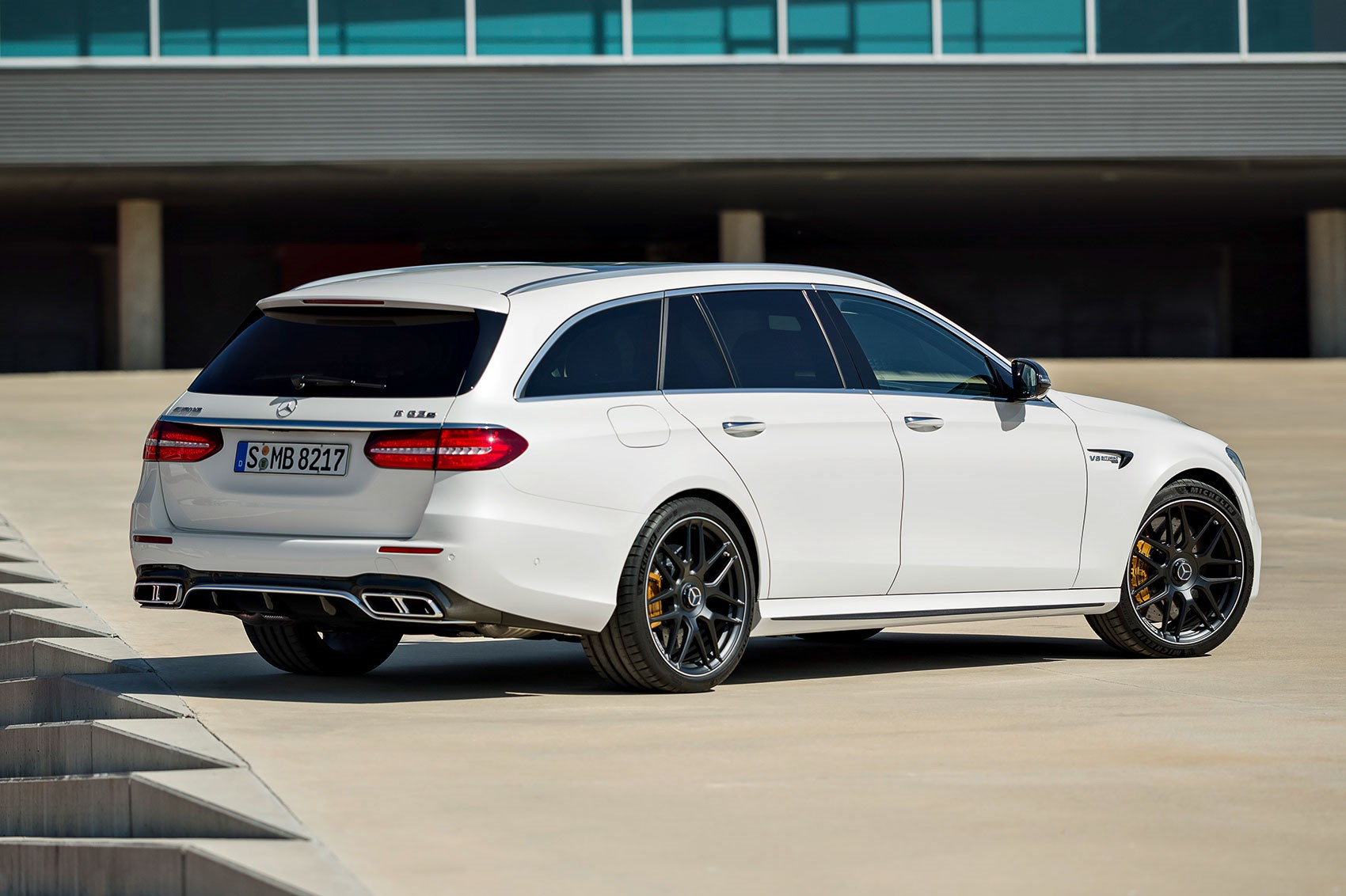 Mercedes amg e63 4matic estate prices revealed for 2017 for Mercedes benz e63 s amg