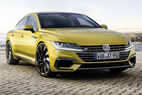 VW Arteon: unveiled at Geneva