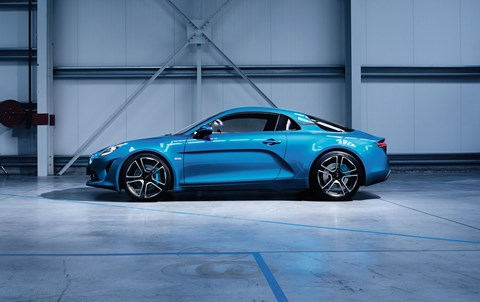 The Alpine sports car: unveiled for real at Geneva