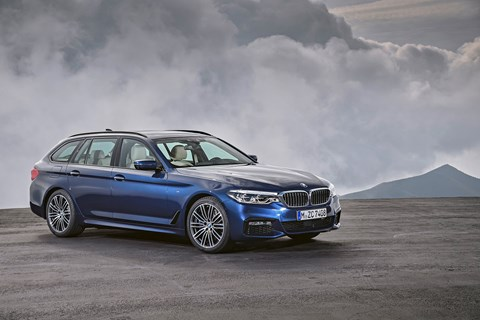 The new 2017 BMW 5-series Touring estate