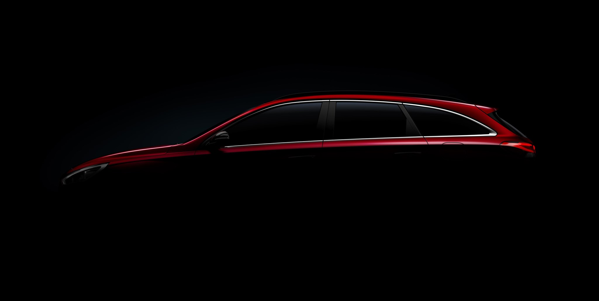 Concept car magazine cool car wallpapers - Hyundai I30 Wagon A Shadowy Teaser