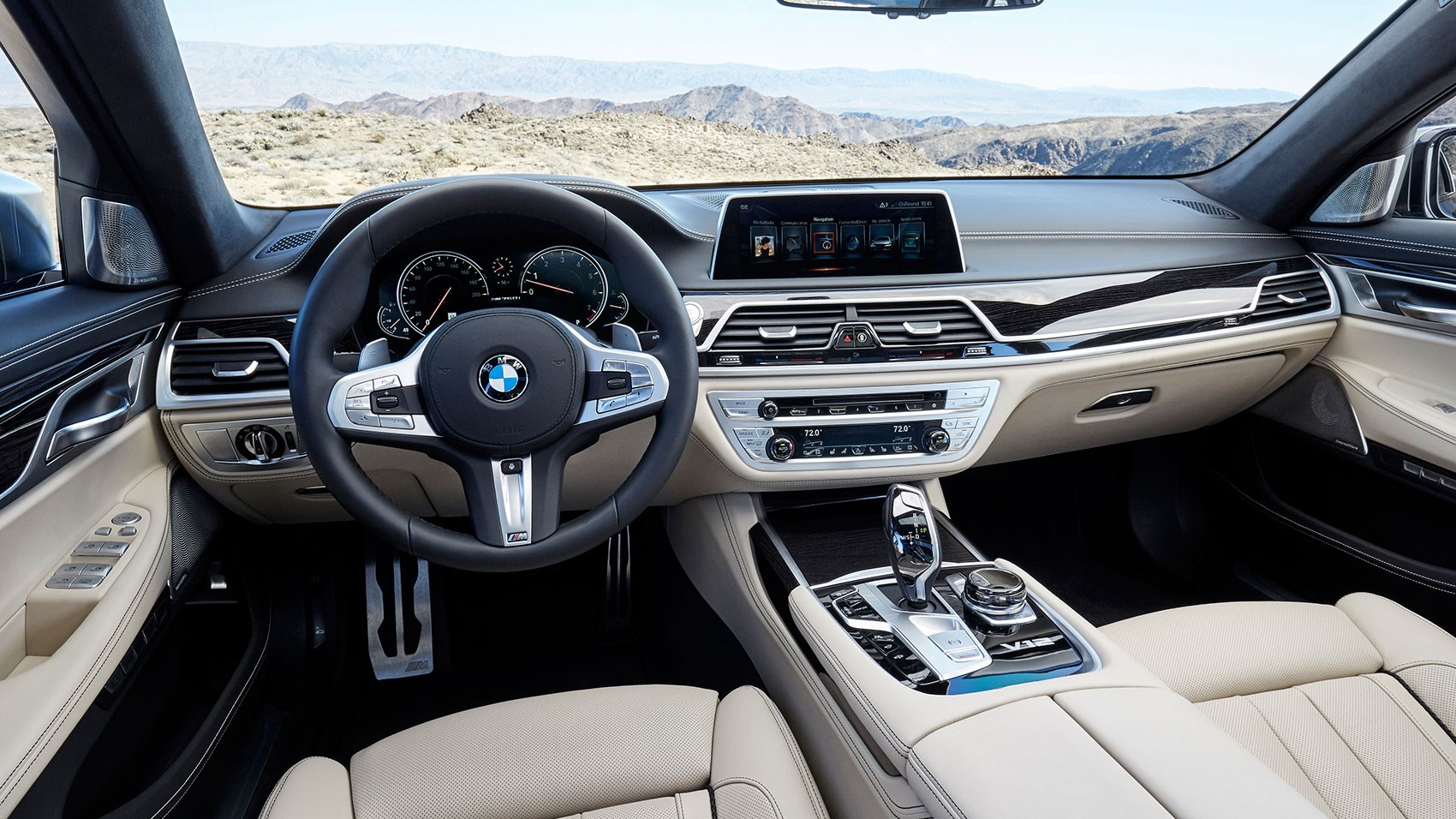 Inside The Bmw M760li Cabin