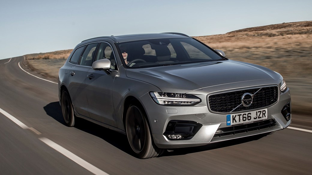 מדהים Volvo V90 D5 PowerPulse AWD R-Design (2017) review | CAR Magazine NO-78