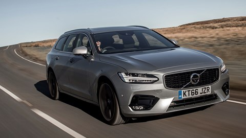 Volvo V90 D5 PowerPulse AWD R-Design (2017) review | CAR