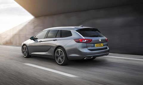 The new 2017 Vauxhall Insignia Sports Tourer estate
