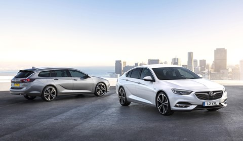 Vauxhall Insignia: choose hatchback or estate