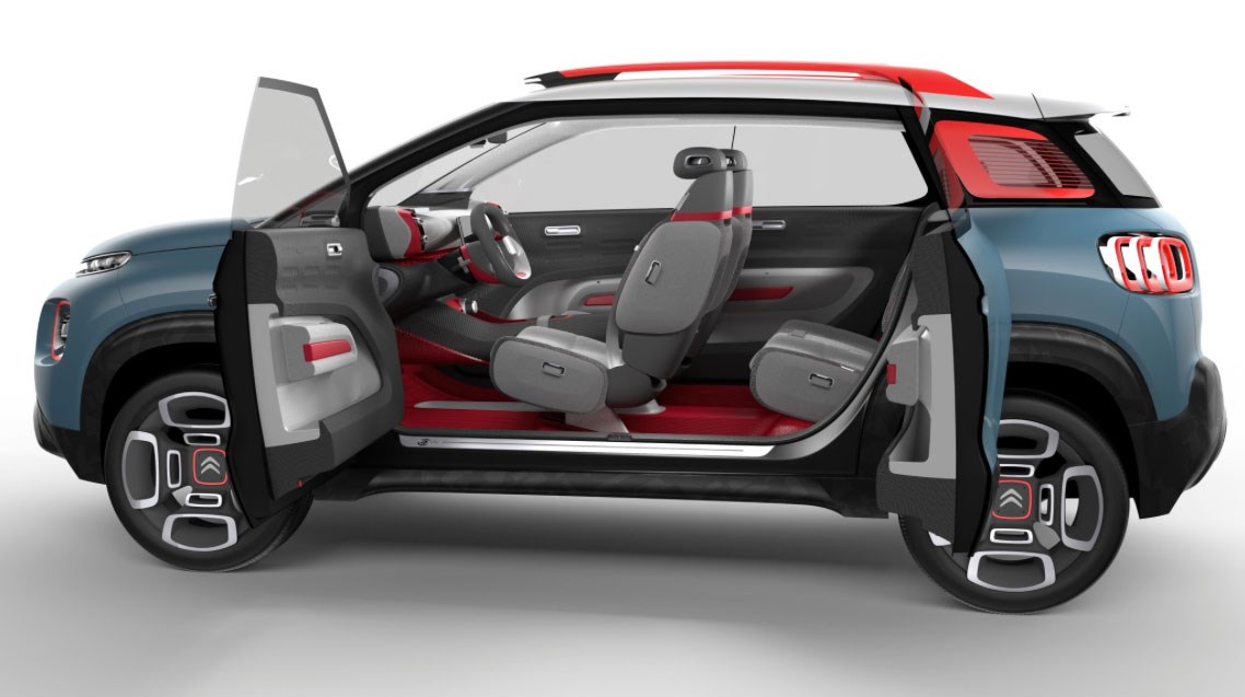 citroen c aircross concept for 2017 geneva show picasso. Black Bedroom Furniture Sets. Home Design Ideas