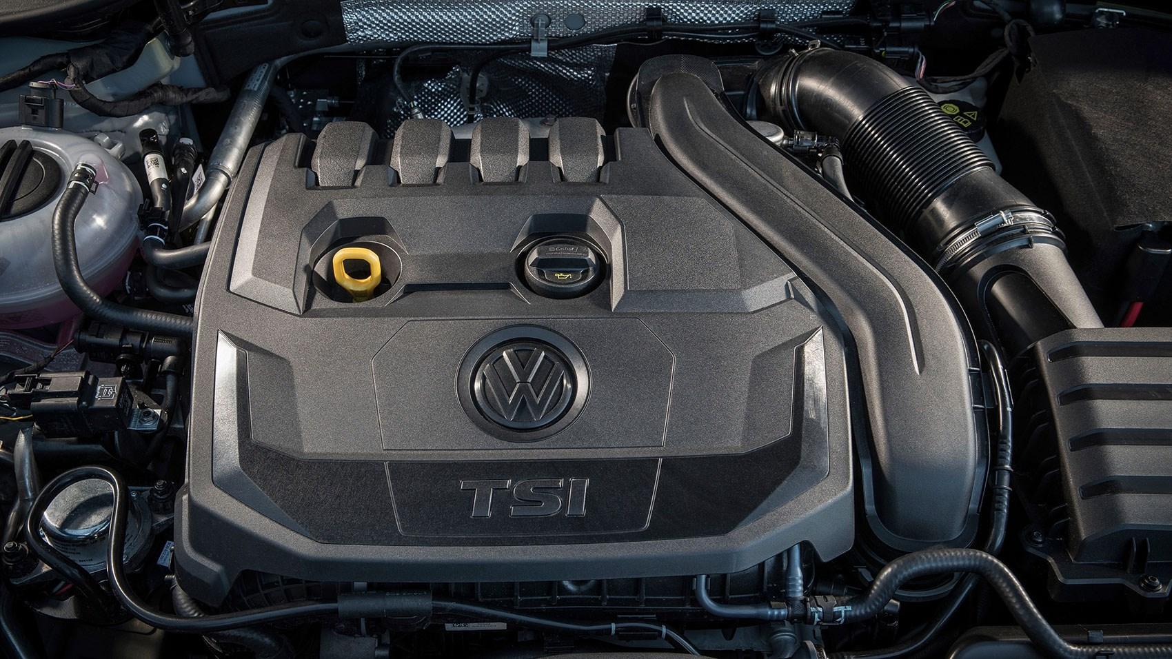 The new VW Golf 1.5 TSI Evo engine