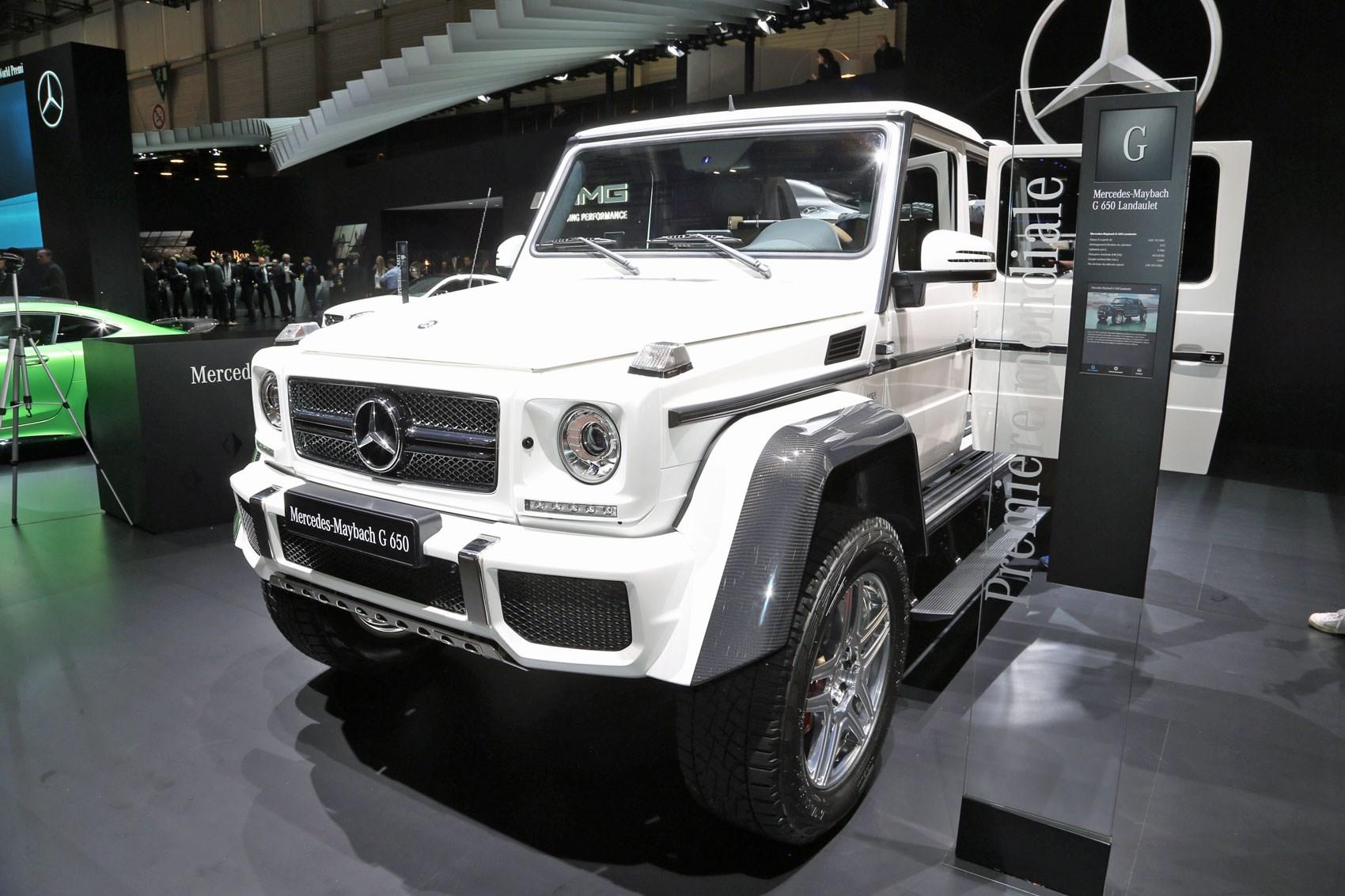 Make way mercedes maybach g650 landaulet by car magazine for Mercedes benz maybach g650