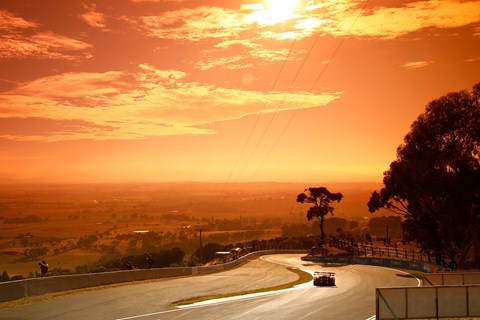 The Mount Panorama circuit climbs 570ft from the start straight to its highest point