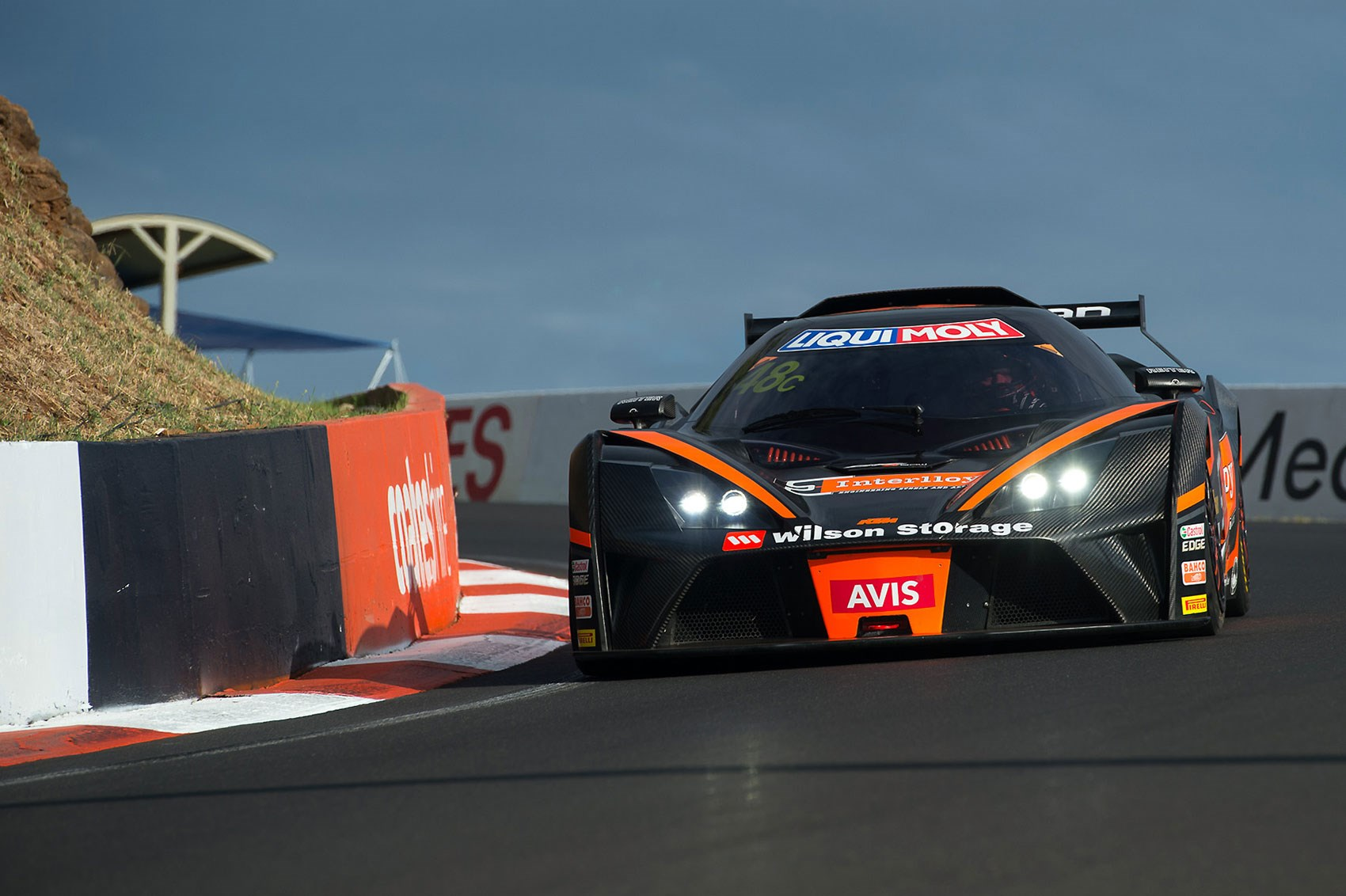 he finished third bathurst is a car breaker fire damage forced ktm s threatening looking x bow to retire from the lead of the gt4 class