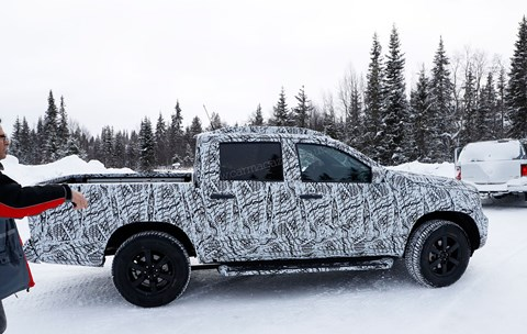 Mercedes X-class pick-up: see it for real later in 2017