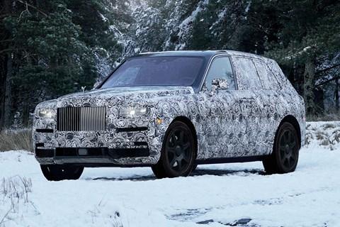 Rolls-Royce Cullinan front quarter