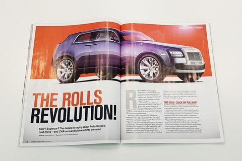 Rolls Royce Cullinan magazine pic