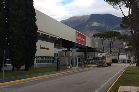 Cassino plant for Alfa Romeo. Once built Fiat 126 and Stilo, but everything changed for premium cars