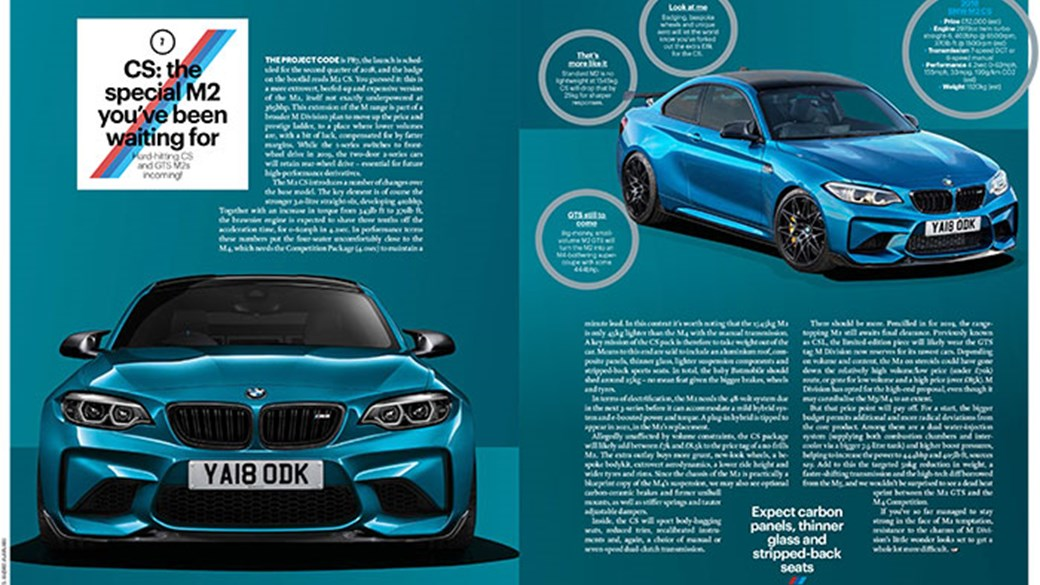Bmw M2 Cs For 2017 Could This Be Bmw S Best Driver S Car Car