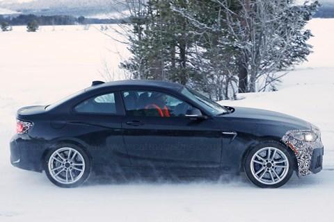 BMW M2 CS spyshot