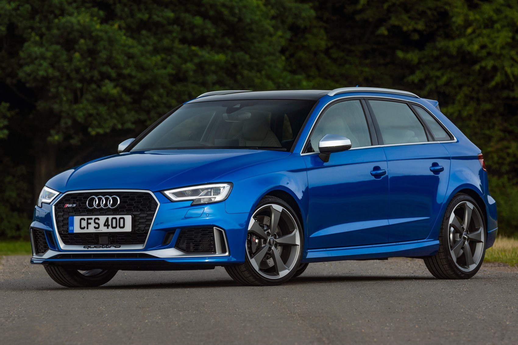 new audi rs3 sportback names its price car magazine. Black Bedroom Furniture Sets. Home Design Ideas