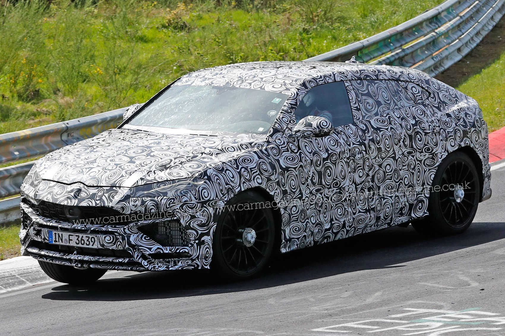 New Lamborghini Urus Suv Spotted Being Thrashed Around The Ring